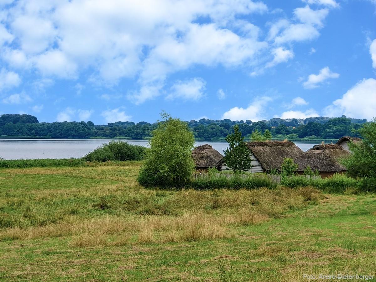 Wikinger Siedlung Haithabu an der Schlei
