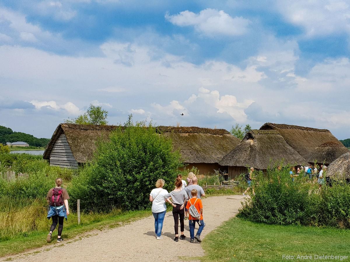 Wikinger Siedlung Haithabu - Besucher