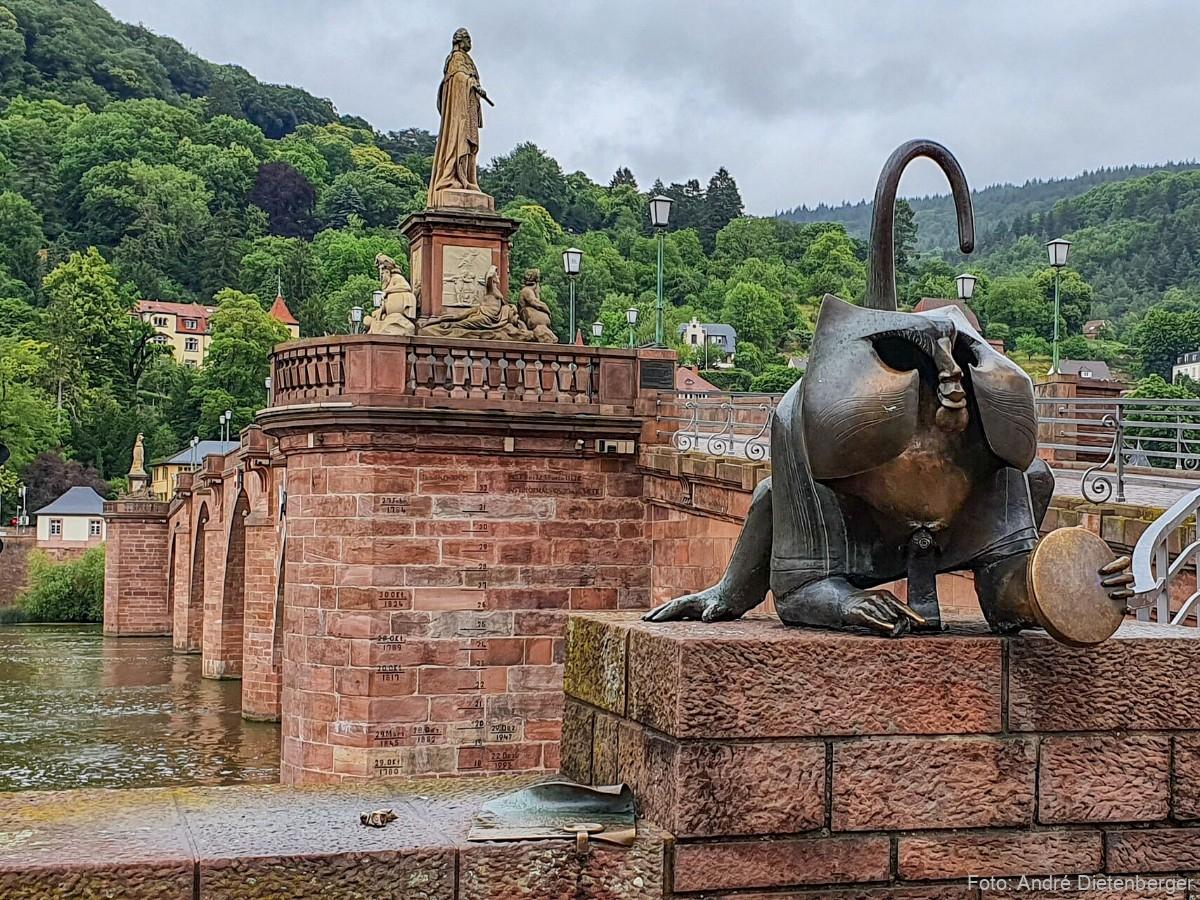 Brückenaffe Heidelberg