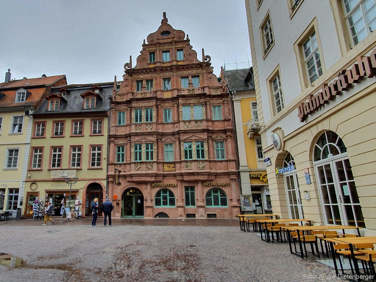 """Haus """"Zum Ritter"""" Heidelberg"""