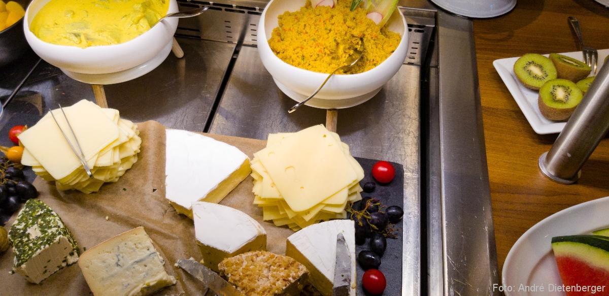 Badischer Hof - Käseplatte
