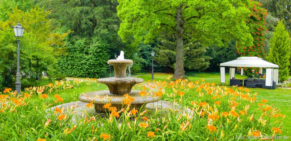 Badischer Hof - Thermalbrunnen