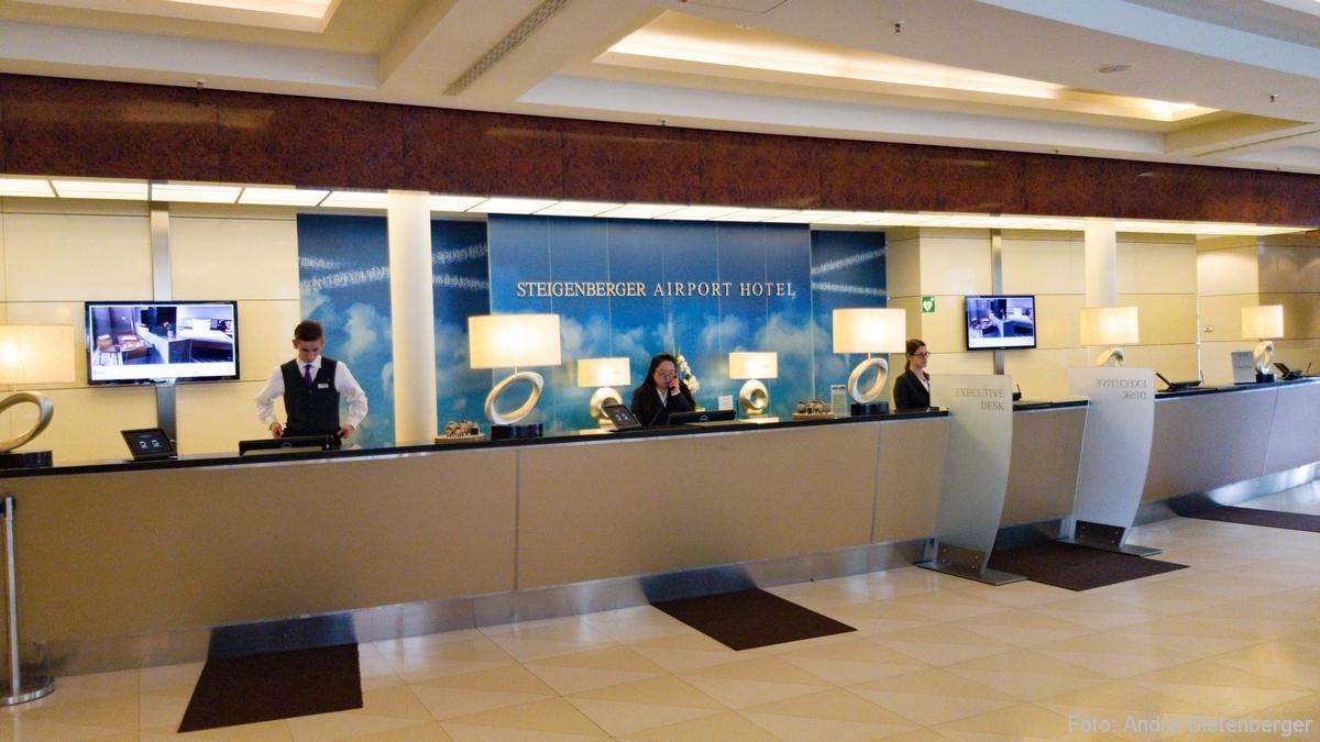 Lobby ohne Gäste