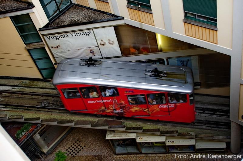 Die Standseilbahn Lugano