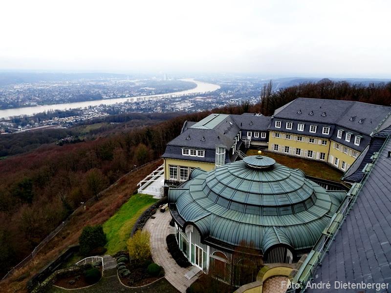 Grandhotel Petersberg - Ausblick vom Dach
