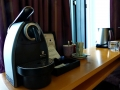 Swissotel - Zimmer Kaffeemaschine