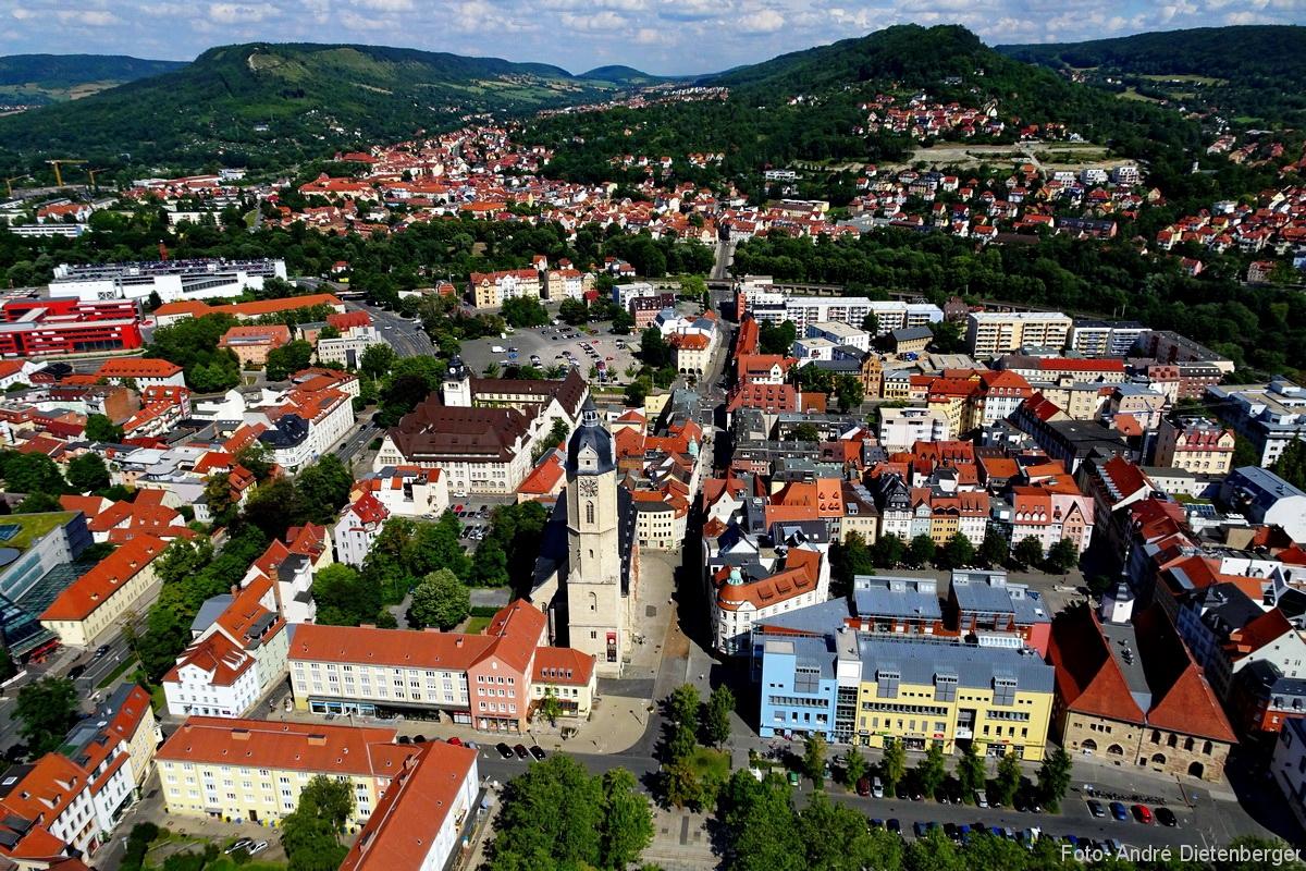 Panorama mit Stadtkirche
