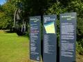 Köln - Skulpturenpark Schilder
