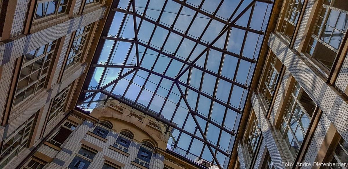 Passage - Hof mit Glasdach