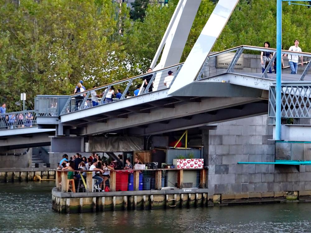 Yarra Footbridge - Ponyfish Island