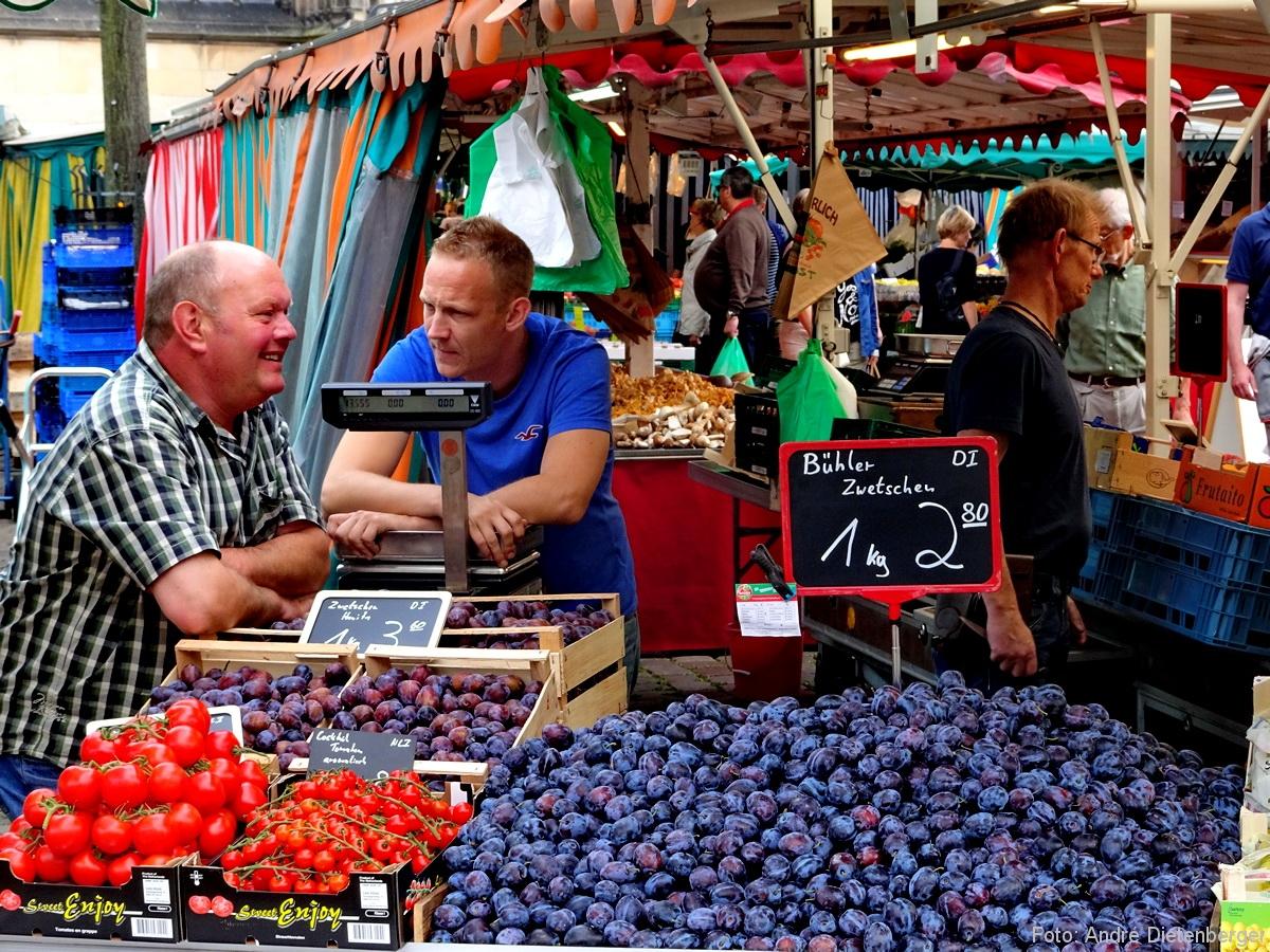 Münster - Wochenmarkt