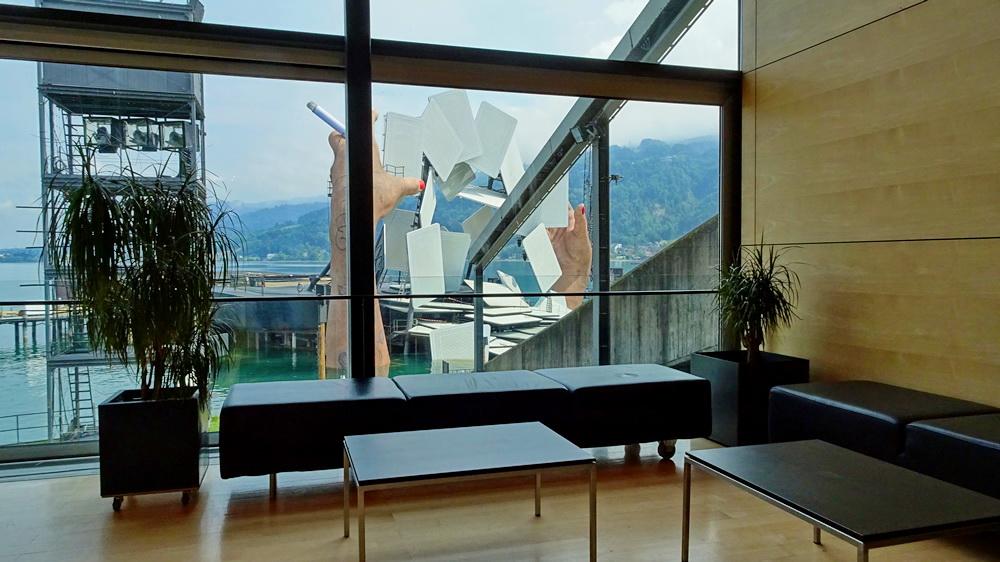 Festspielhaus Bregenz - Sicht