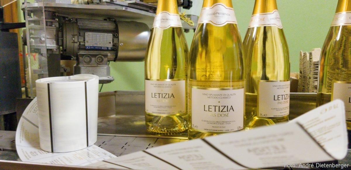 Wein aus dem Piemont