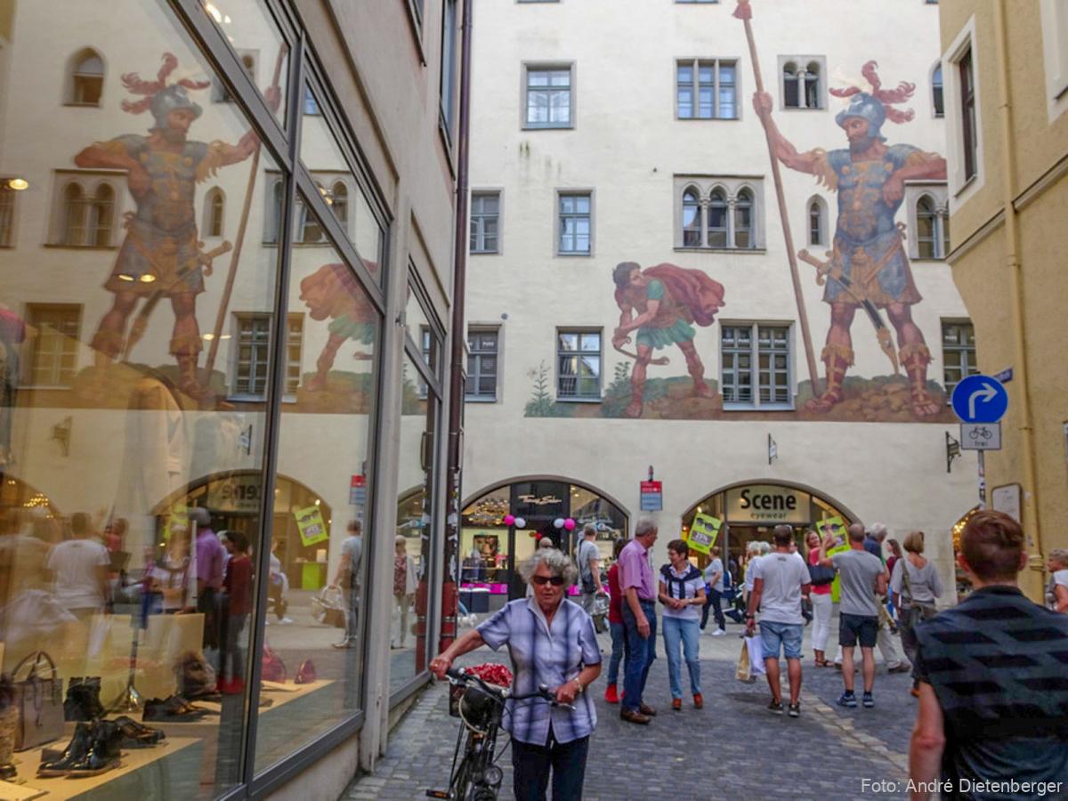 Regensburg - Goliath Haus