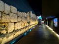 Regensburg - Römische Mauer im Parkhaus am Dachauplatz
