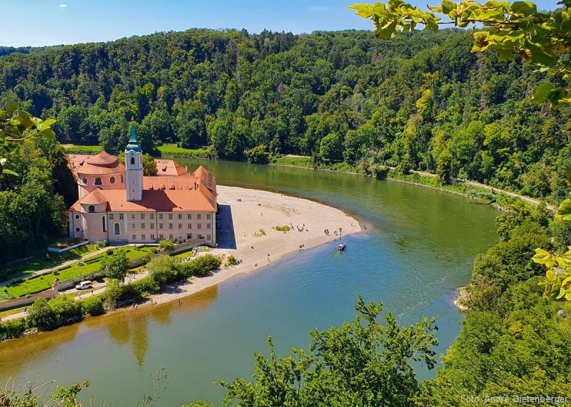 Kloster Weltenburg / Donaudurchb