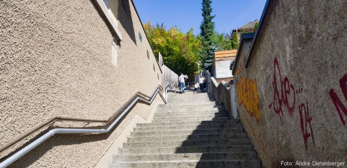 Schaffhausen - Munotstieg
