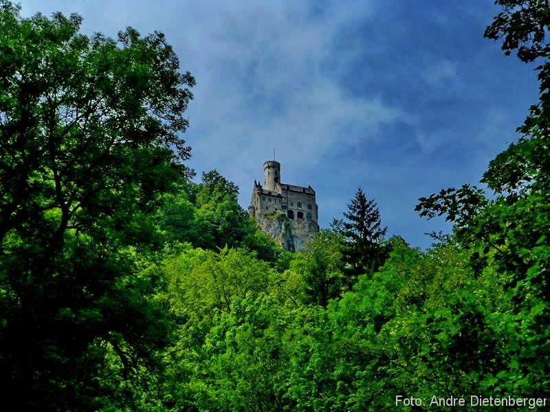 Schwäbische Alb - Schloss Lichtenstein