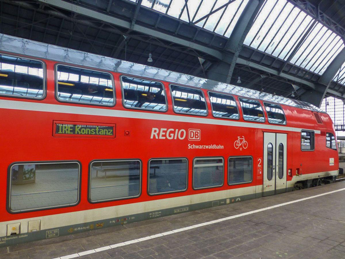 Schwarzwaldbahn - Start Karlsruhe Hbf