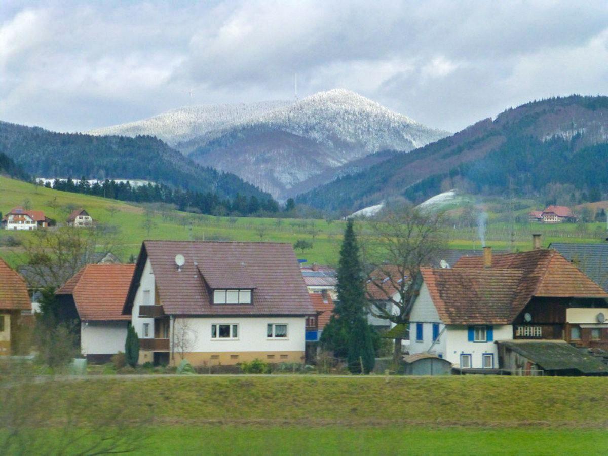 Schwarzwaldbahn - Unterwegs Dorf