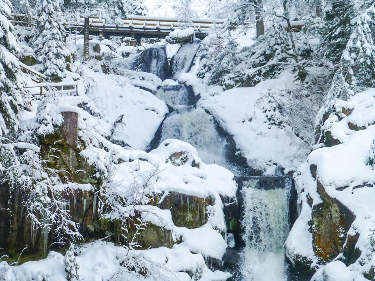 Schwarzwaldbahn - Triberger Wasserfälle