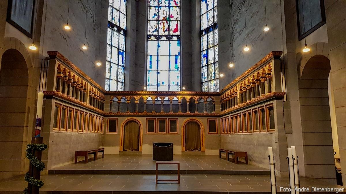 St. Matthias, innen