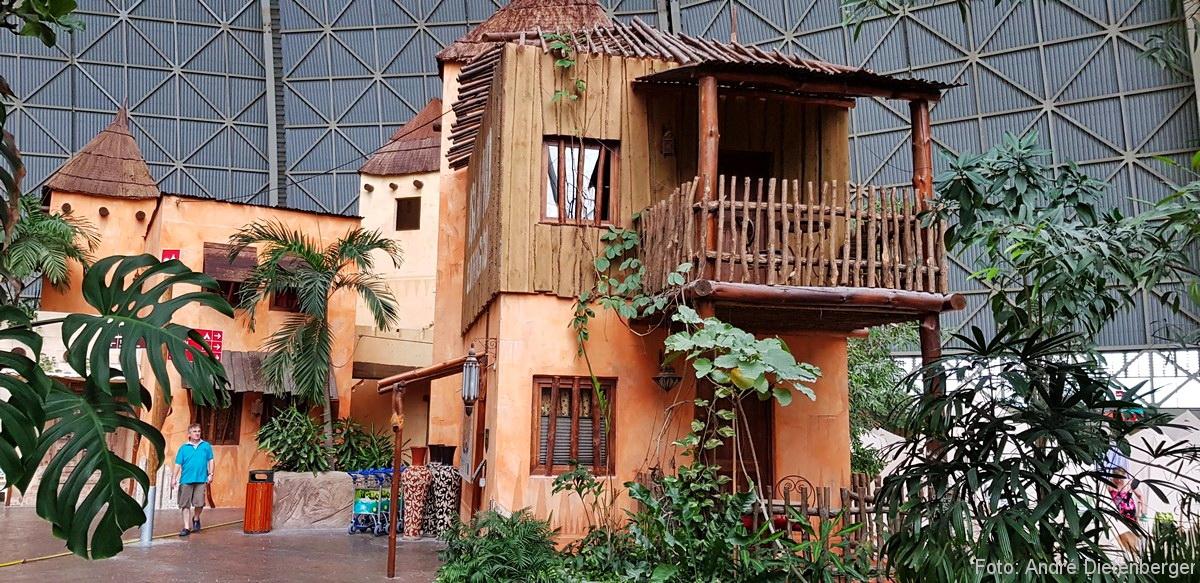 Tropical Islands Zimmer von außen