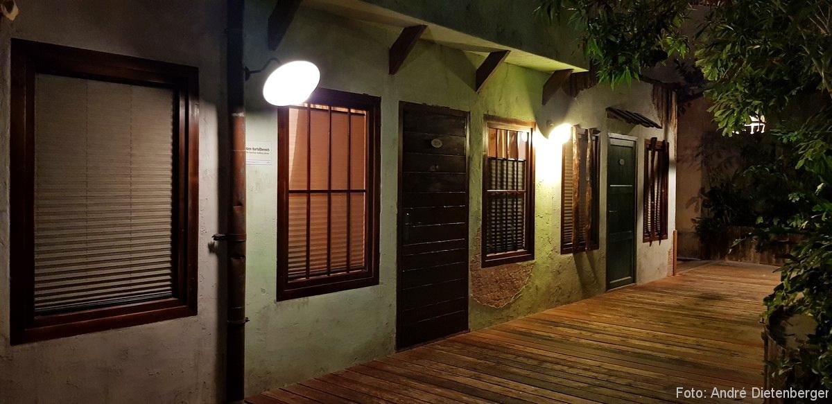 Tropical Islands Zimmer bei Nacht