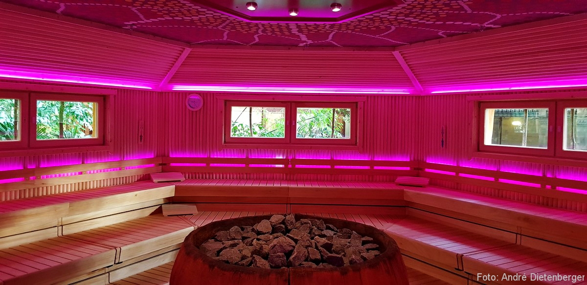 Tropical Islands Sauna