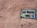 Wegweiser Zur Donau