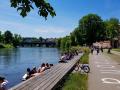 Donauufer mit Donaustufen