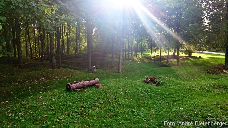 Verdun - Zerrstörtes Dorf Fleury