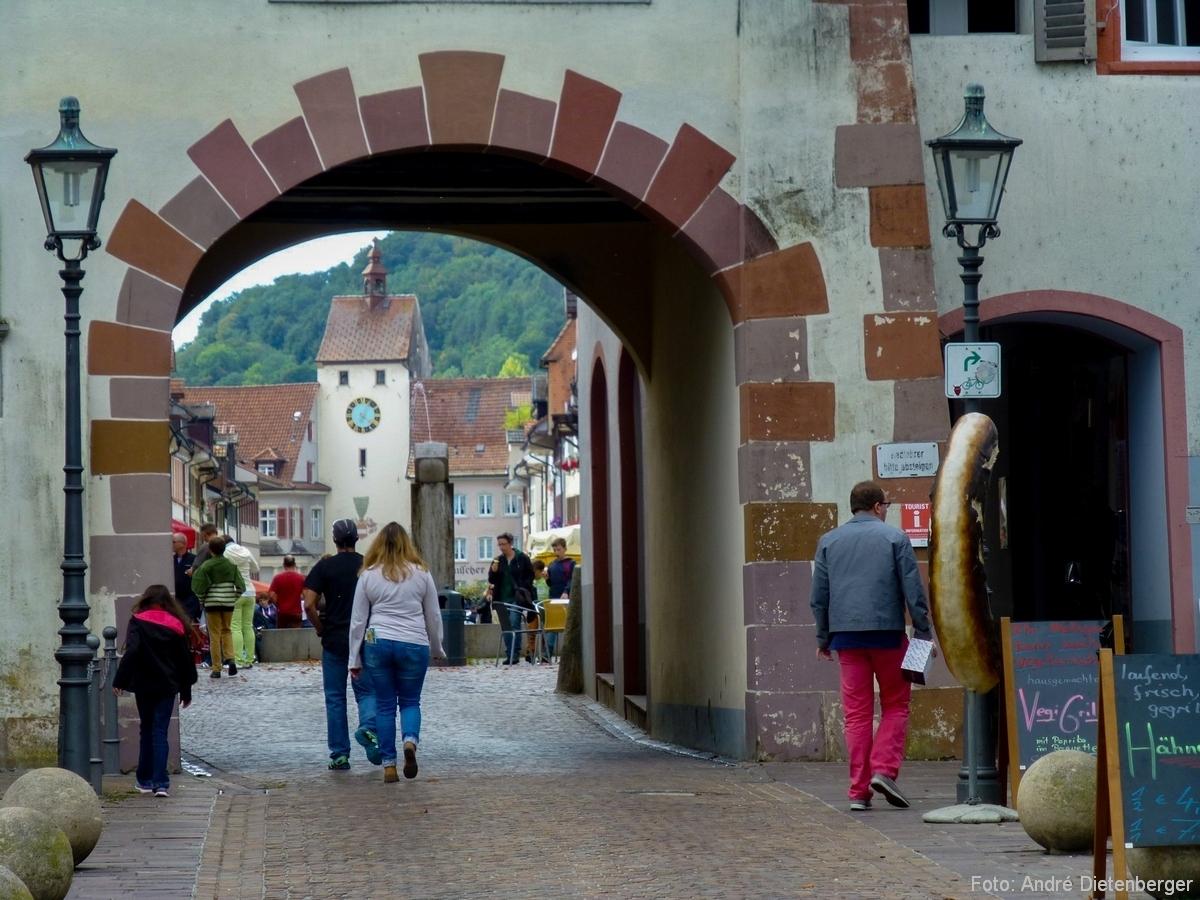 Oberes Tor (Schaffhauser Tor) Außen