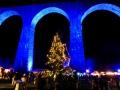 Weihnachtsmarkt Ravennaschlucht - Viadukt & Weihnachtbaum