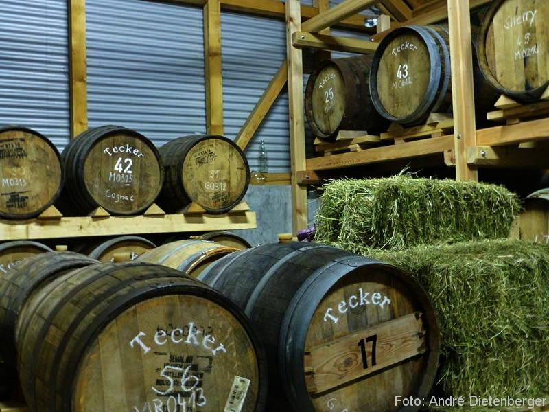 Whisky Walk - Whiskyfässer