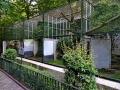 Zoo Wuppertal - alte Vogel Käfige